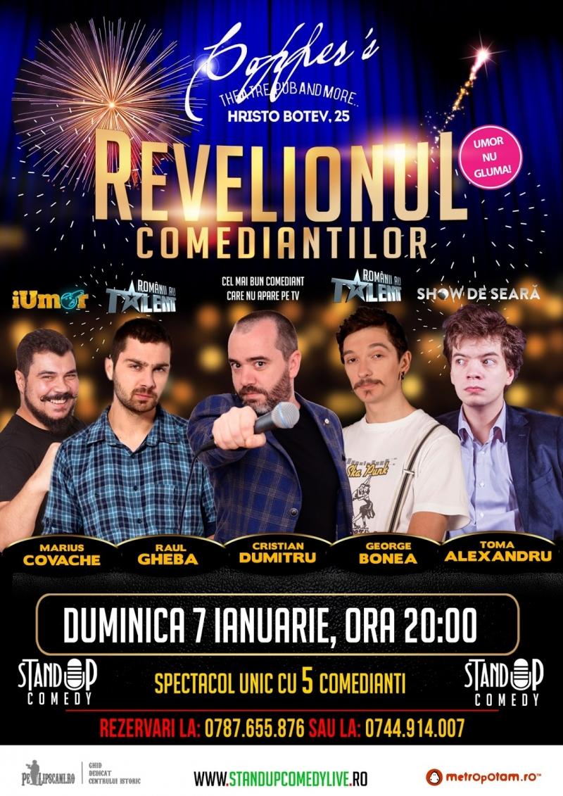 Vand Bilete la REVELIONUL COMEDIANTILOR 2018
