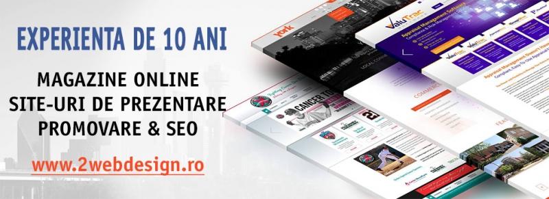 anunturi gratuite Creare Magazin Online & Site Prezentare