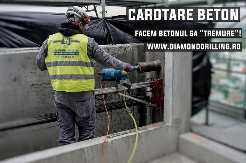 anunturi gratuite Carotare beton - servicii profesionale de gaurire si taiere a betonului