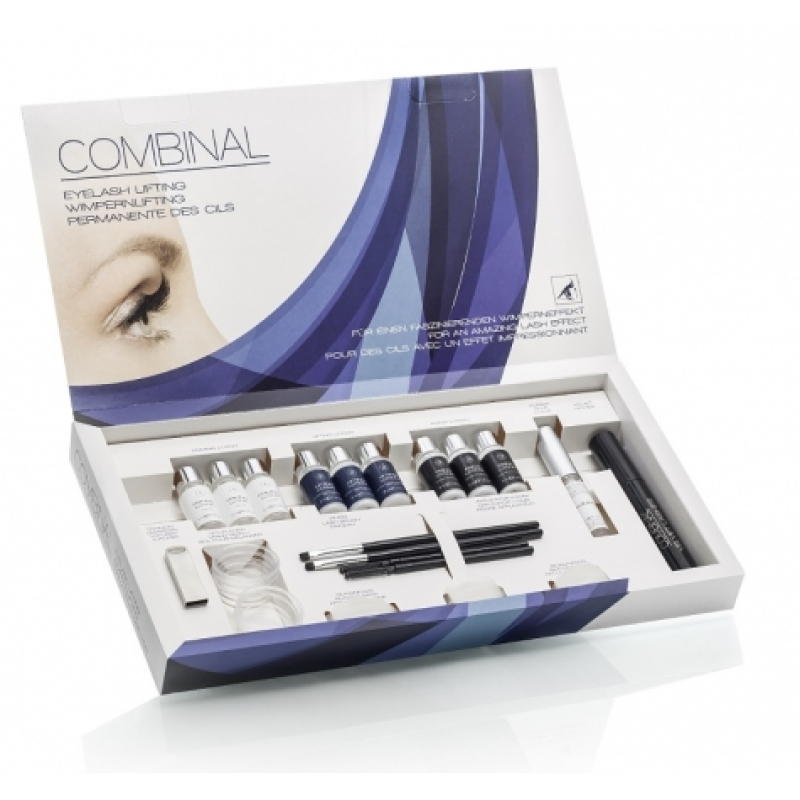 PERMANENT DE GENE COMBINAL EYELASH LIFTING KIT PENTRU 60 DE APLICATII DR. TEMT