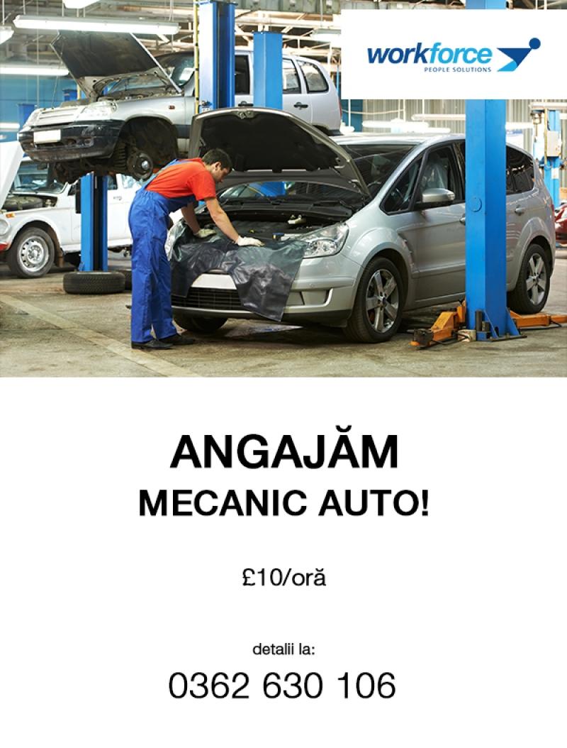 anunturi gratuite Angajam Mecanic Auto