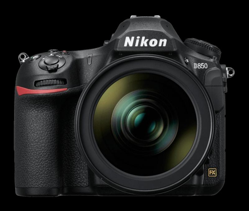 Camera Nikl D850 40.5MP Nikl D850 + Nikkor AF-S Nikkor 24-70mm f / 2.8G ED 24-70 obiectiv