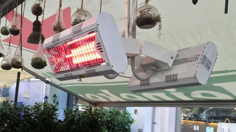 anunturi gratuite incalzitoare cu infrarosu pentru terase si biserici