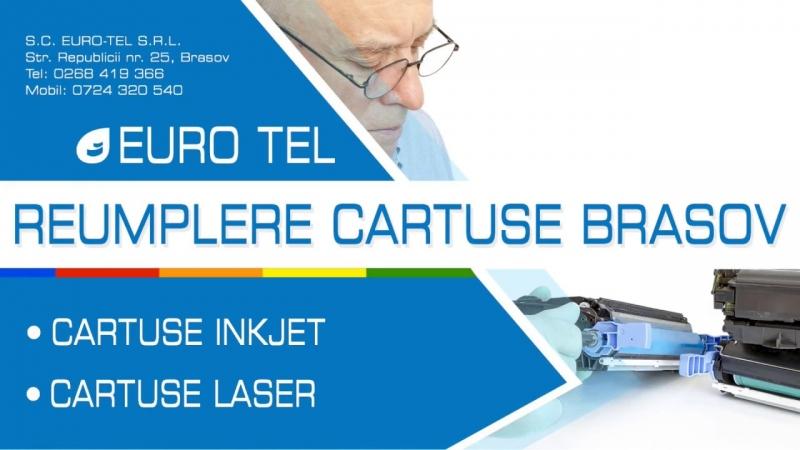 Euro-Tel Reumplere Cartuse Imprimanta Brasov