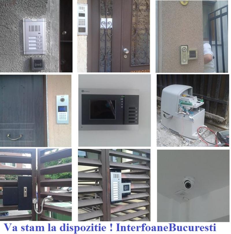 Interfon sau Videointerfon Bloc si Casa