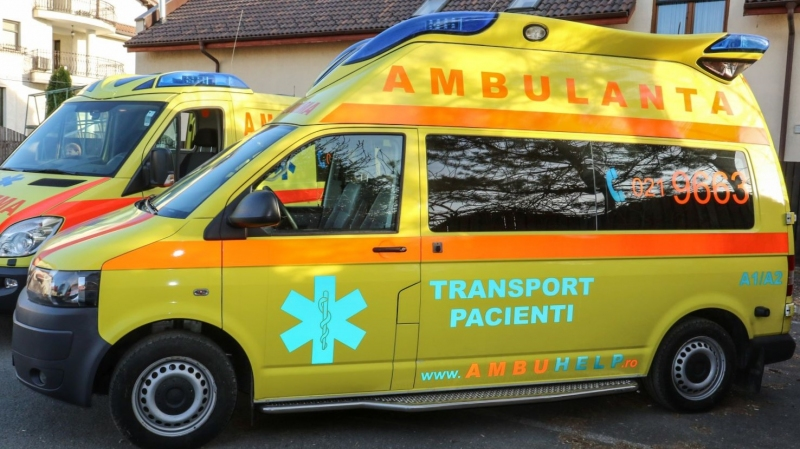 anunturi gratuite Ambulanta ieftina, AmbuHELP, Transport pacienti, Transport international