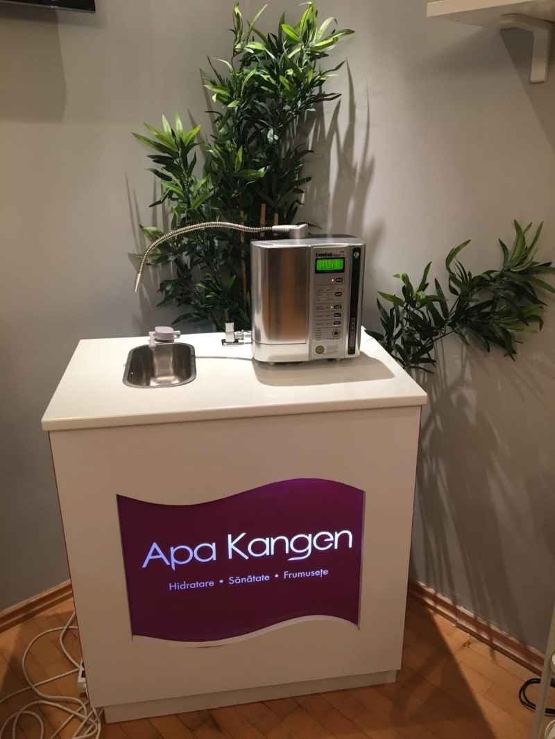 anunturi gratuite Apă vie Kangen  România _ sistem Japonez Leveluk K8