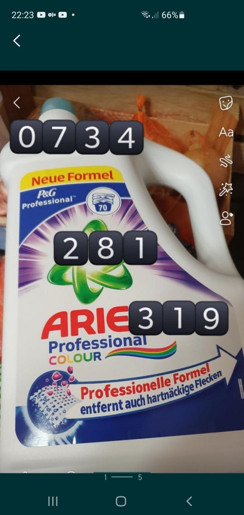 anunturi gratuite Ariel detergent