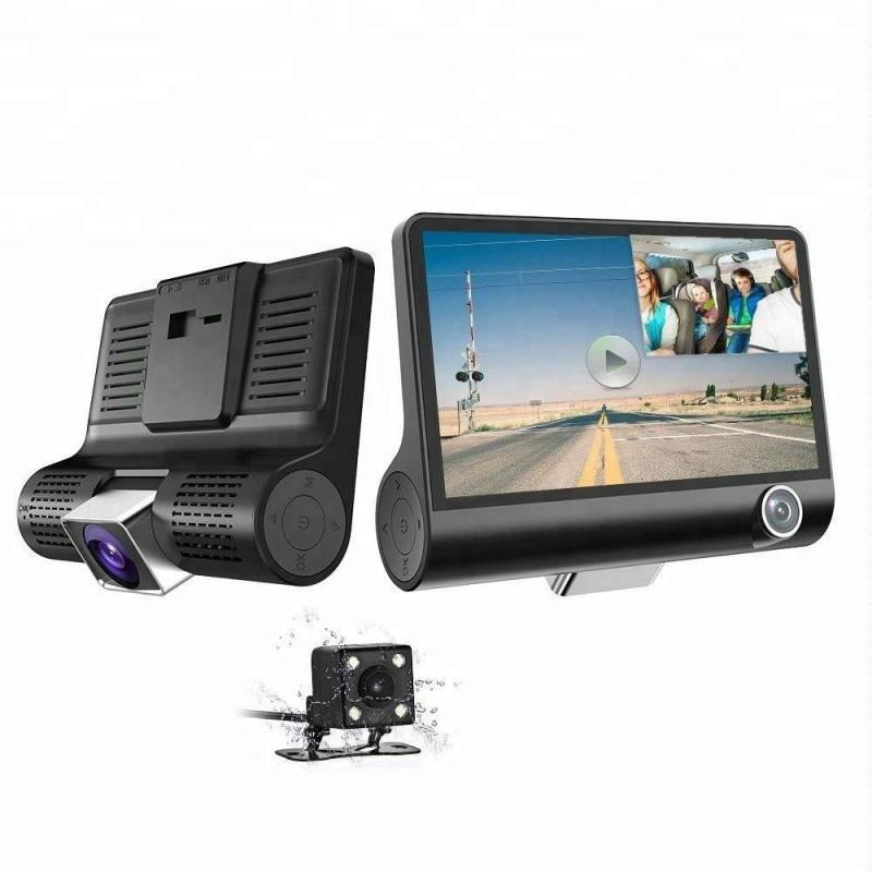 anunturi gratuite Camera Video Auto Tripla DVR Premium Reflection Vision, Full-HD, 3 Camere - Fata/Spate/Interior,