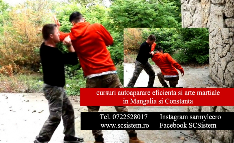 Cursuri autoaparare si arte martiale Mangalia ți Constanta