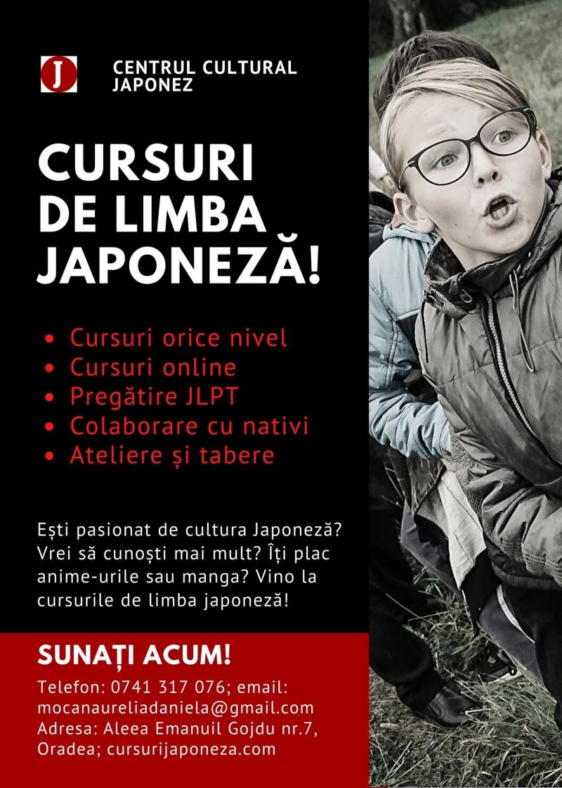 Cursuri japoneza, online sau la sediu