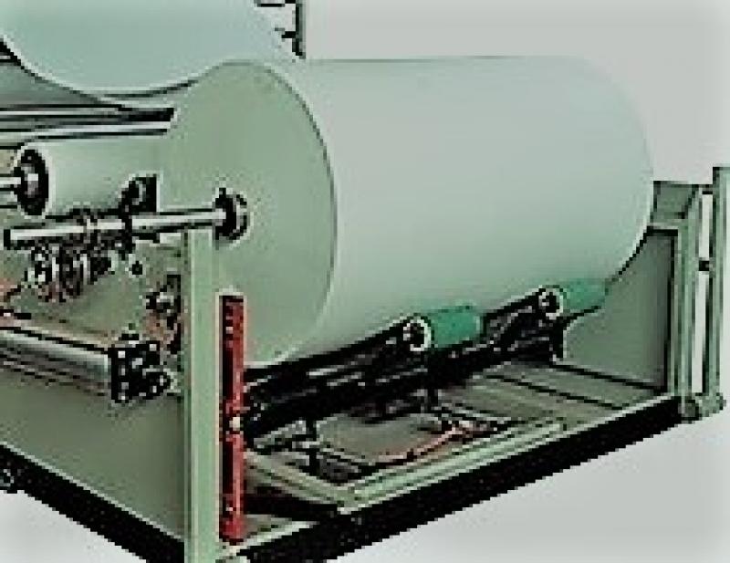 Derulator role hartie,banzic,utilaj tuburi carton