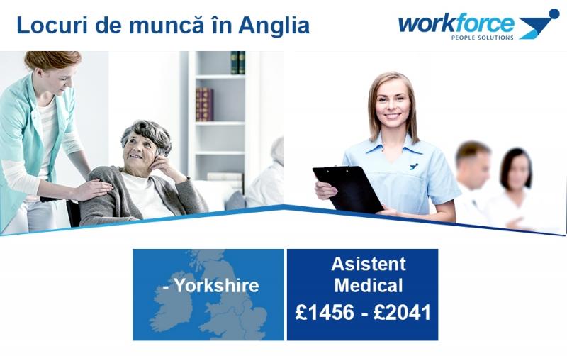 Locuri de munca infirmieri/ ingrijit adulti in azile