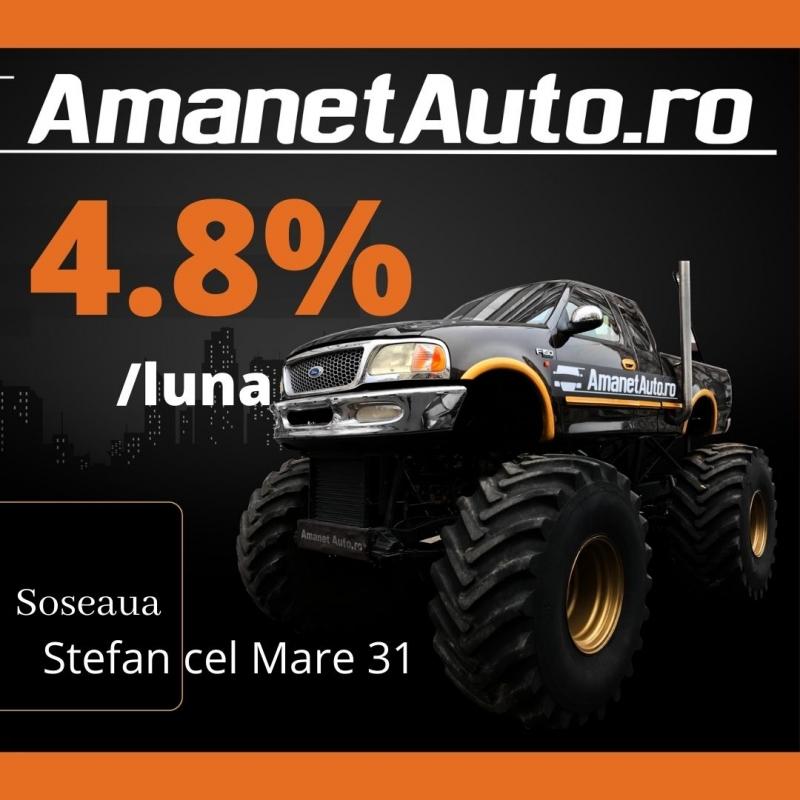 anunturi gratuite Oferta Amanet Auto 4,8% pe luna
