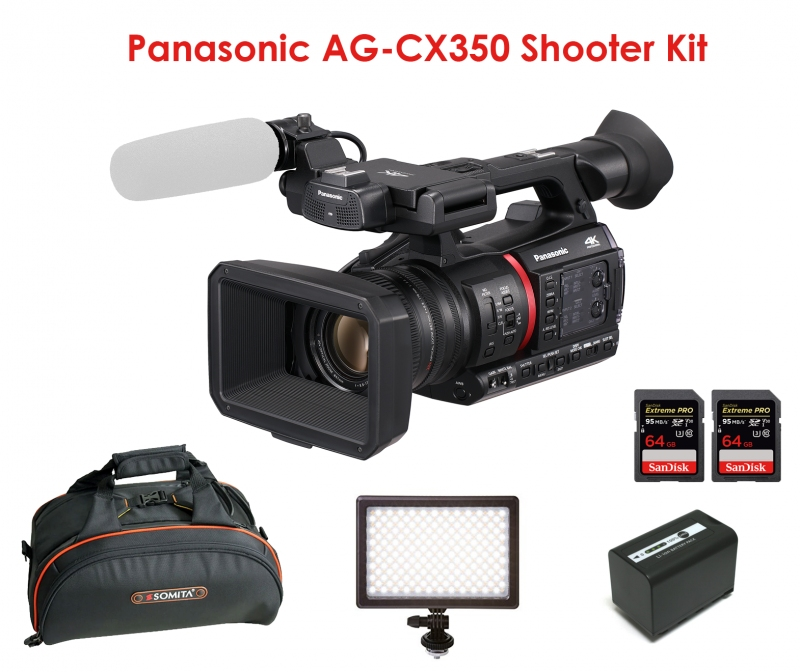 anunturi gratuite Panasonic AG-CX350 . 4K HDR Pro camcorder for ENG , Events, Travel .