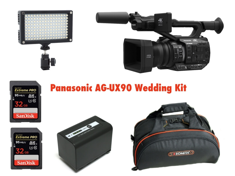 Panasonic AG-UX90 . Videocamera 4K Pro ideala evenimente / nunti .