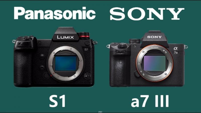 Panasonic S1 versus Sony A7III