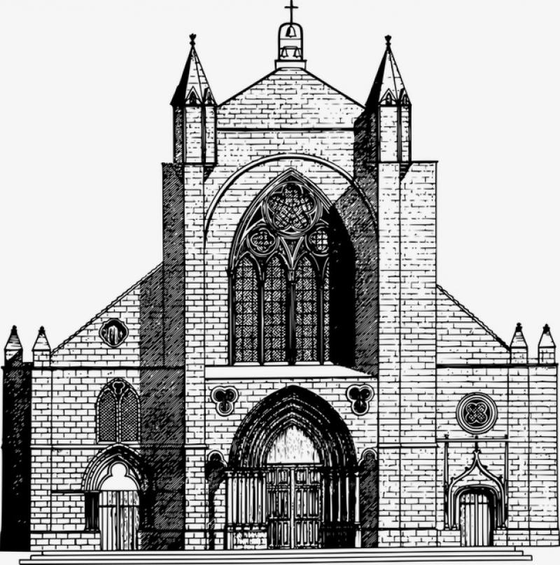 Pentru construcţia Bisericii Catholic St. Teresa copilului Isus