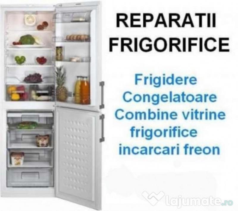 Reparatii frigorifice la domiciliul clientului