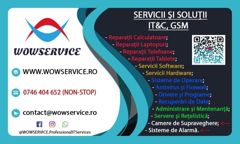 anunturi gratuite Servicii si Solutii IT & C & GSM in Galati - WOWSERVICE
