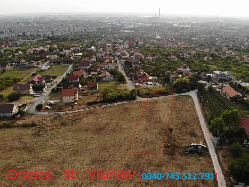 anunturi gratuite Teren intravilan de vanzare str. Visinilor, Oradea