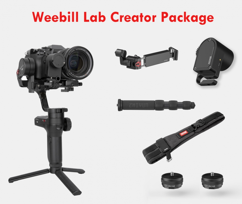 Weebill Lab Creator Package. Ales cel mai bun gimbal in 2019