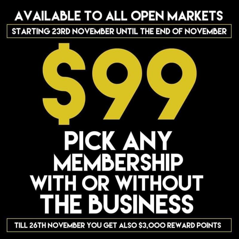 Afacere la cheie 99 $