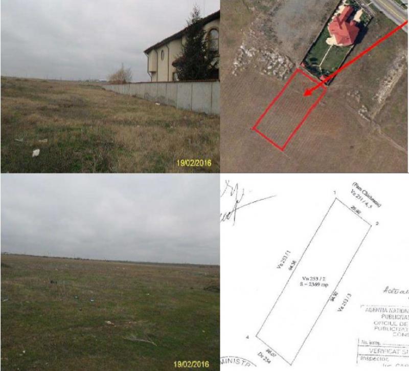anunturi gratuite Teren 2500 mp, zona Palazu Mare, Constanta