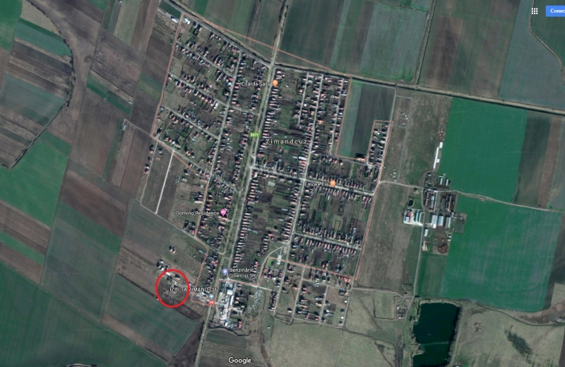 Teren 1,351 mp, com. Zimandu Nou, Zimandcuz, jud. Arad