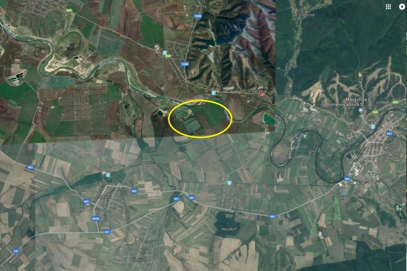 Teren extravilan 506,100 mp, Zabrani, Arad