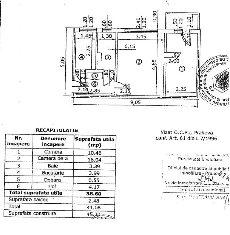 anunturi gratuite Apartament 2 camere, Aleea Chimiei, Ploiesti