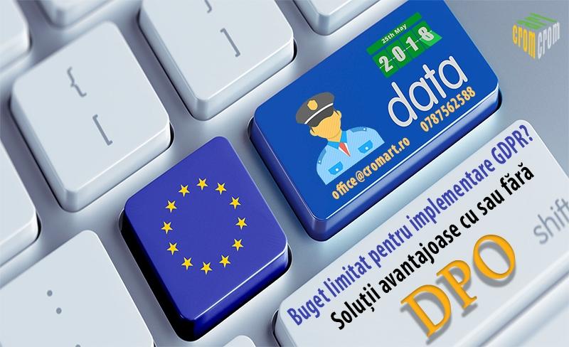 anunturi gratuite Servicii autorizate pentru implementarea Regulamentului UE 679/2016