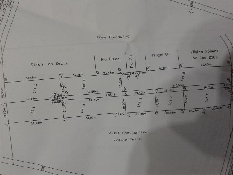 anunturi gratuite teren snagov sat str crizantemelor 500 mp deschidere 28 metri pret 40 e metru